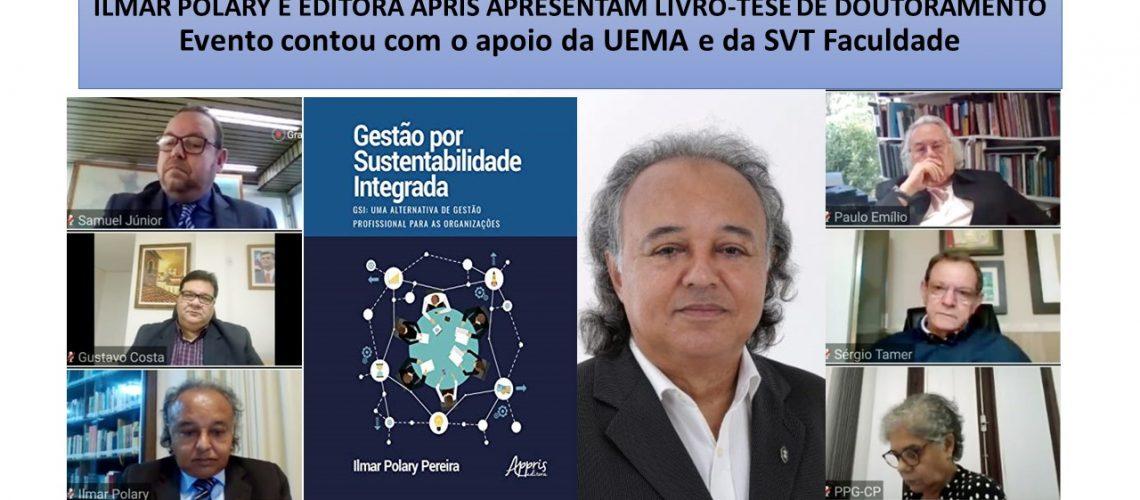 ILMAR POLARY E EDITORA APRIS APRESENTAM LIVRO-TESE DE