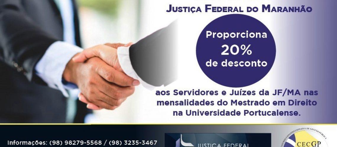 MESTRADO JUSTIÇA FEDERAL